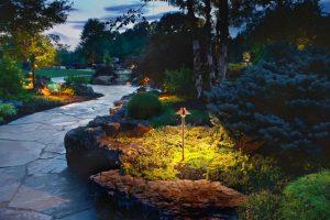 outdoor lighting landscaping colleyville tx